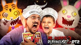 CHEF DUDDY vs. Mr. HOPPS Playhouse 2!  Rabbit Stew Getting MADE yo!  Part 2 GameplaySkit