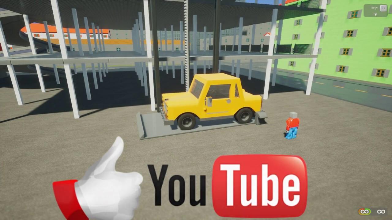 Как сделать машину в brick rigs
