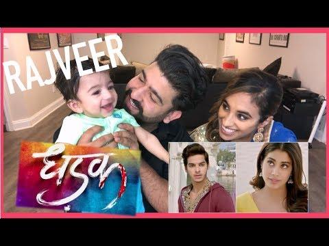 Dhadak Trailer Reaction FT Rajveer |...