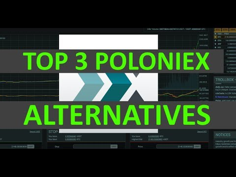 My Top 3 Alternatives To Poloniex Exchange - CoinStar1337