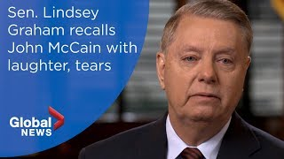 Graham recalls friend McCain with laughter, tears