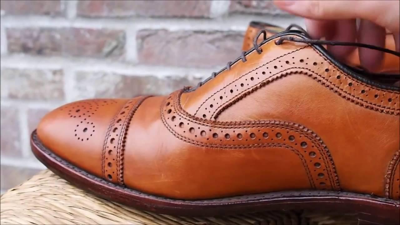 Allen-Edmonds Men s Fifth Avenue Walnut Calf Oxford Shoe - YouTube dc5d6819f2d