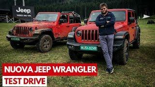 Nuova Jeep Wrangler | Test Drive in anteprima del mitico fuoristrada americano