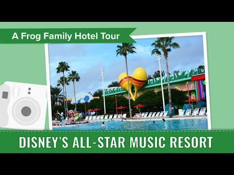 Disneys AllStar Music Resort Tour, an Under Tourist Photo Album