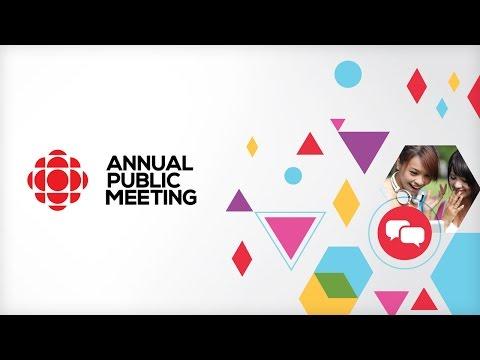 CBC/Radio-Canada's Annual Public Meeting – 2016