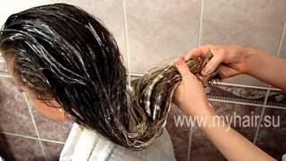 видео Спасательная маска для роста и укрепления  волос