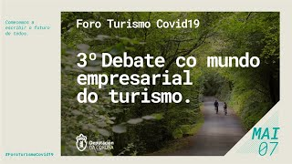 3º Debate co mundo empresarial do turismo