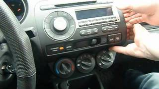 gta car kits honda fit 2006 2008 install of iphone ipod and aux adapter for factory stereo