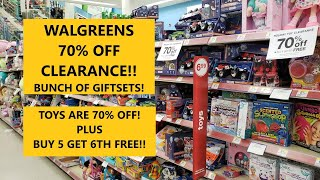 Walgreens 70% Off Clearance!! Toys 70% Off Plus Buy 5 Get 6th Free!!!