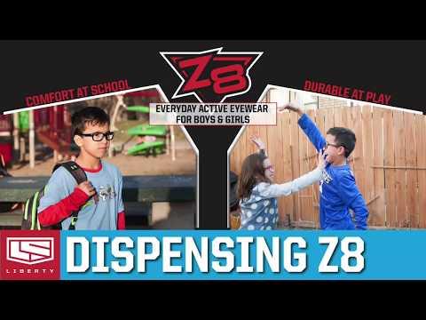 Dispensing Z8 - Virtually Indestructible Active Eyewear