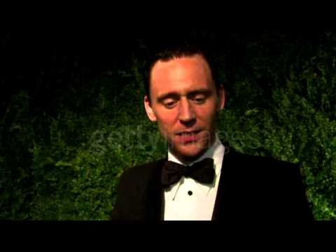 Tom Hiddleston on Theatre, Coriolanus. Evening Standard Theatre Awards 2014 interview.