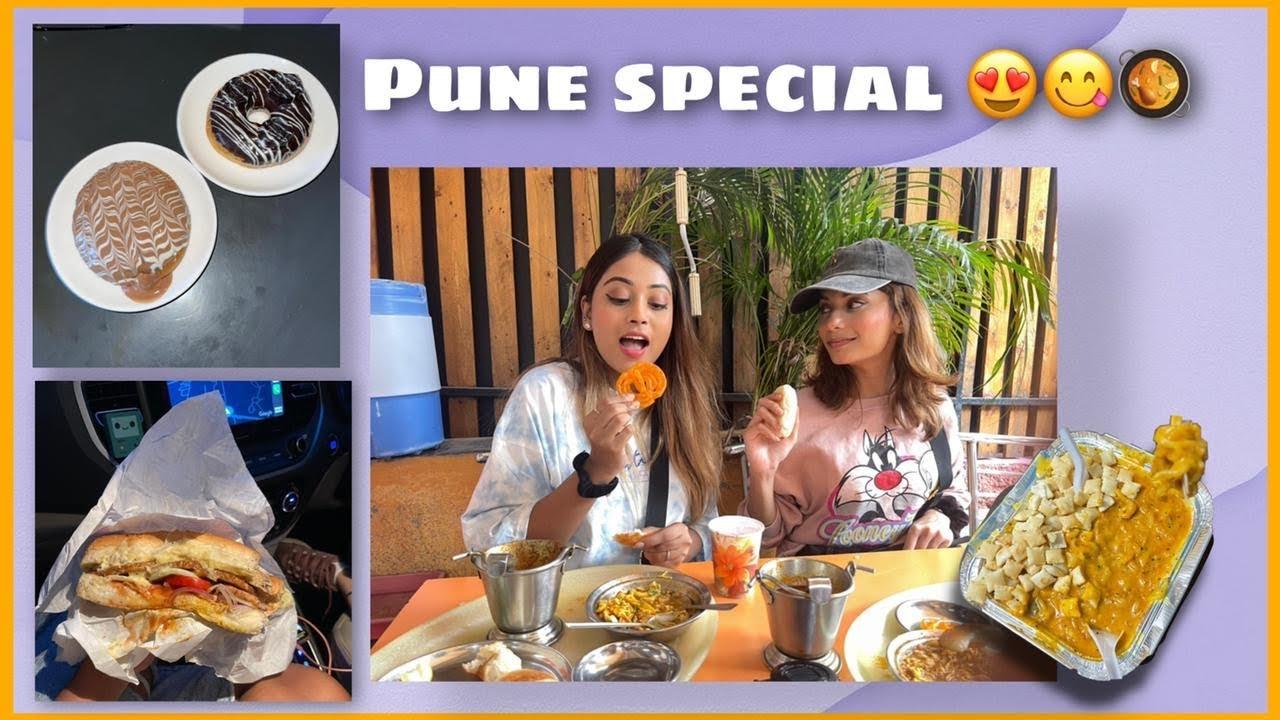Trying PUNE's famous food ft. doll daundkar & raj wadhwani