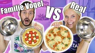 REAL FOOD VS FAMILIE VOGEL FUTTER CHALLENGE - KAAN VS NINA | Echtes Essen gegen Playmobil Nahrung