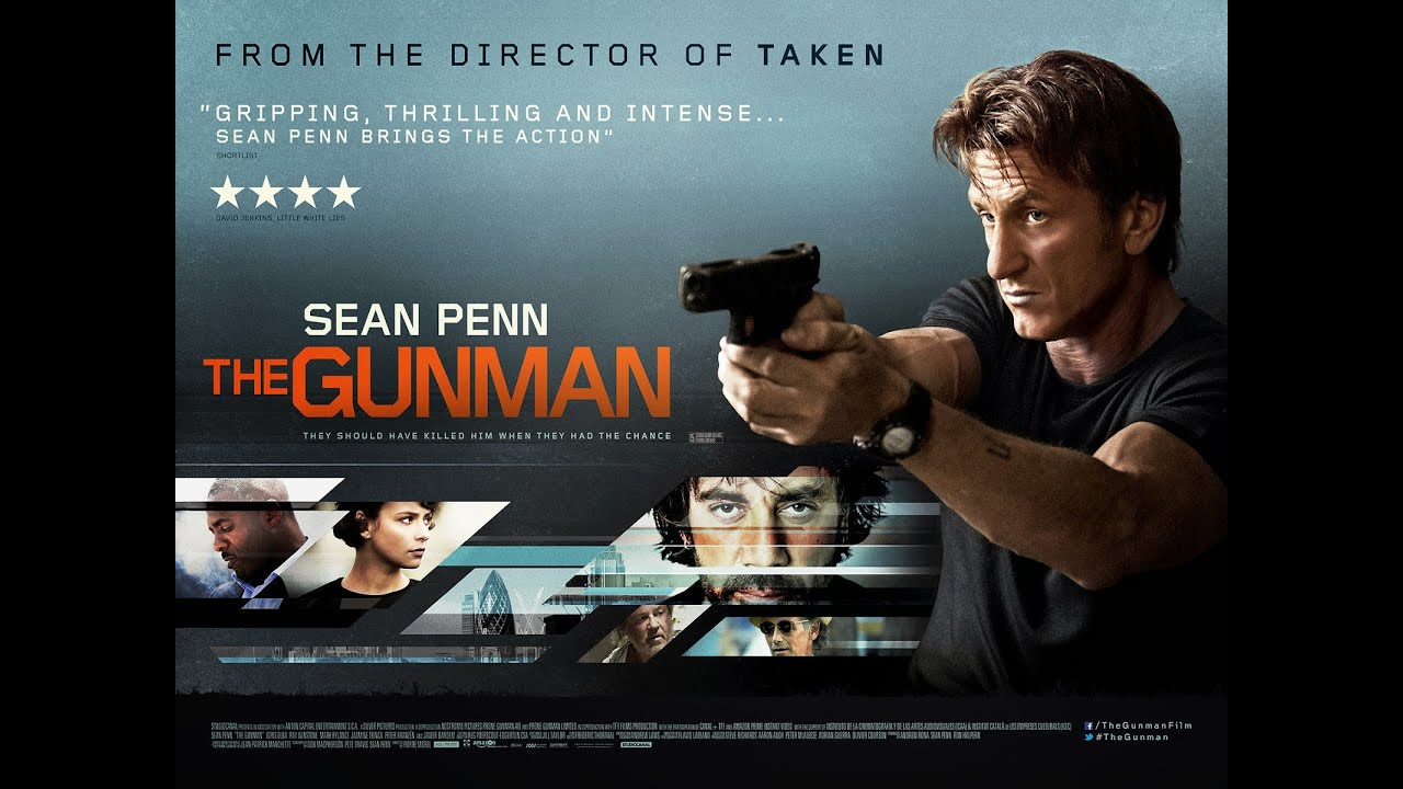 The Gunman2015 Movie Review  YouTube