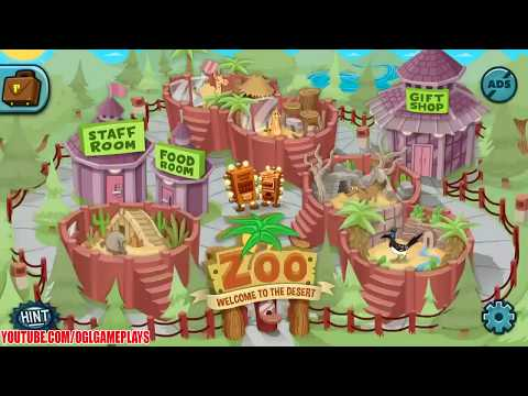The Great Zoo Escape 2: Desert Animal Escape Walkthrough Gameplay