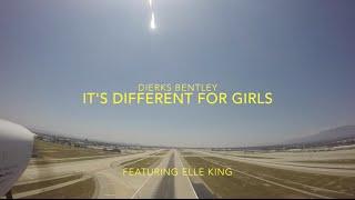 """It's Different for Girls"" Dierks Bentley featuring Elle King Lyric Video KONT Ontario"