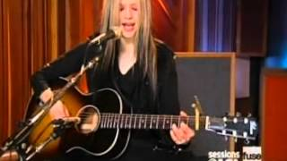 Avril Lavigne   Nobody's Home Acoustic Live FUSE Sessions @ AOL