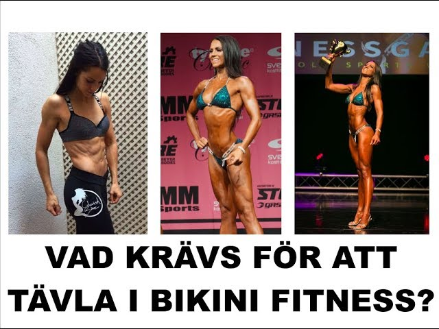 tävla bikini fitness