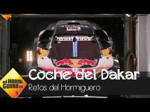 Carlos Sainz pone a prueba el coche con el que ganó el Rally Dakar 2018 - El Hormiguero 3.0