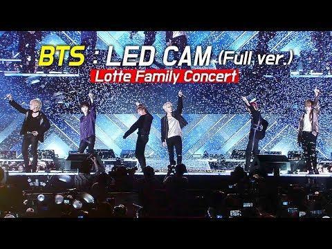 [FULL] BTS Live : LED FANCAM : LOTTE FAMILY CONCERT 2018 : 방탄소년단 防弾少年団