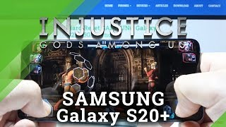 Injustice Gameplay on SAMSUNG Galaxy S20+ - Gods Among Us Game