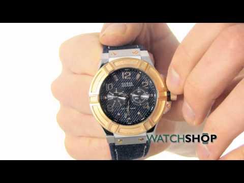 Guess Men's Rigor Guk Watch (W0040G6)
