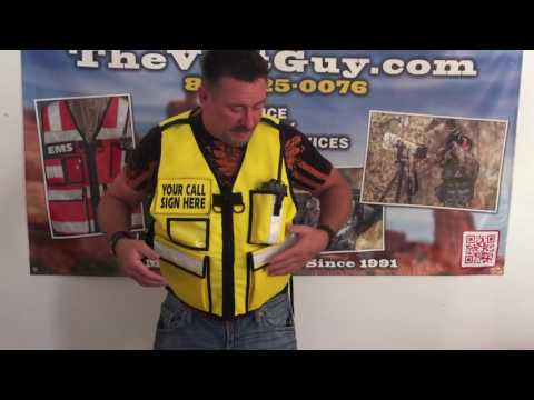ARES Vest Amateur Radio Emergency Services Vest
