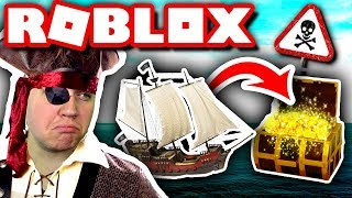 BUILDING BOAT and SAILING for GOLD! ⛵ 💰:: Vercinger in Danish ⚓ Roblox: Build a Boat for Treasure