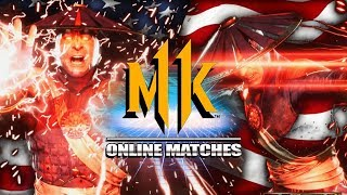RONALD RAIDEN SAVES AMERICA: Raiden - MK11 Online Matches