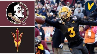 Florida State vs Arizona State Highlights | 2019 Sun Bowl Highlights | College Football