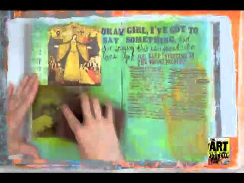 How To Art Journal Videos
