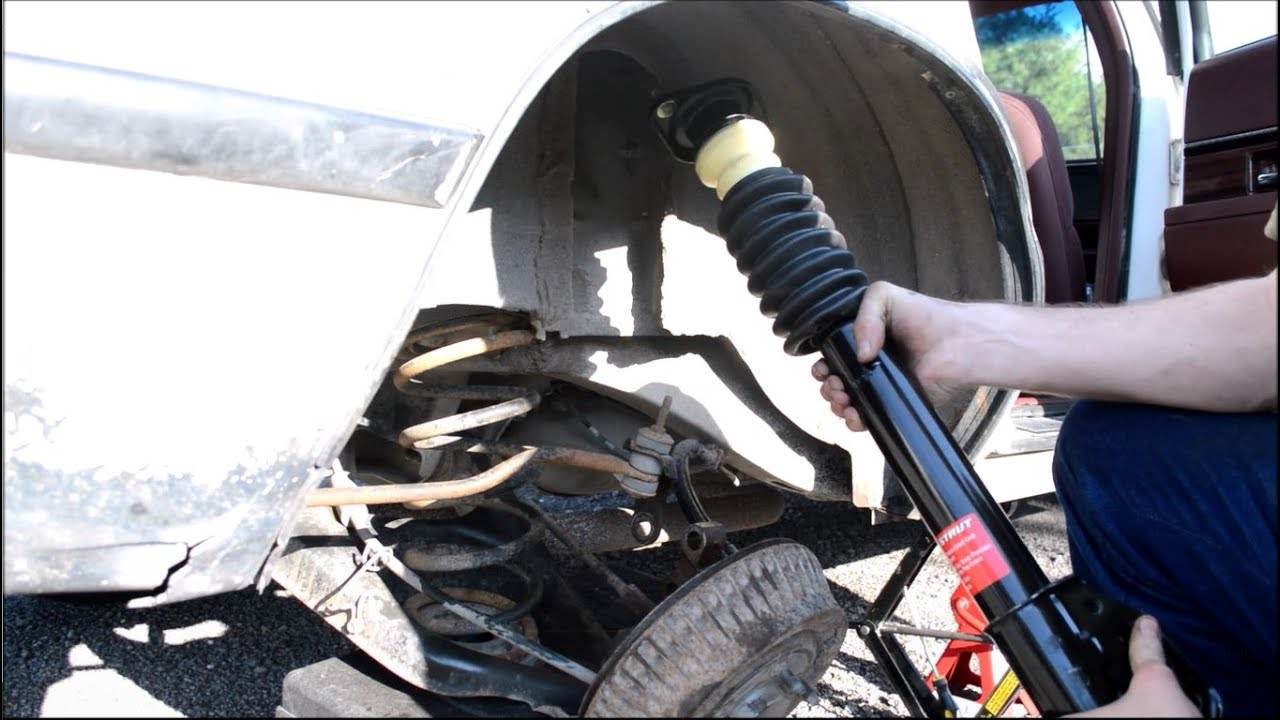2004 Buick Lesabre Rear Air Shocks