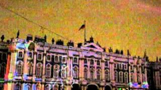 Лазерное шоу на Дворцовой площади 2011-ч.4(5 янв.)
