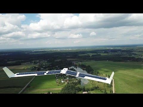 """Download AGAI bepilotis orlaivis """"Solarwing"""""""