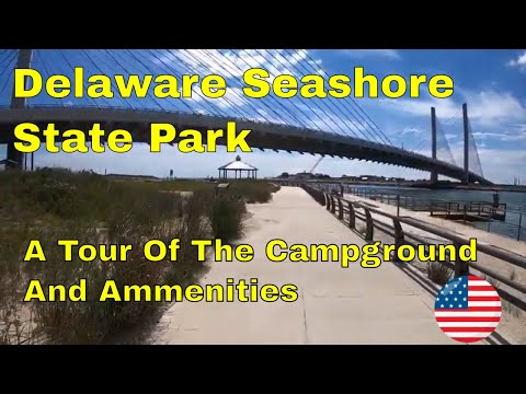 Delaware Seashore State Park Campground Tour - A Beautiful View Of The Atlantic