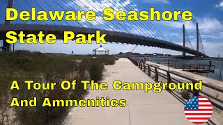 Delaware Seashore State Pąrk Campground Tour - A Beautiful View of The Atlantic