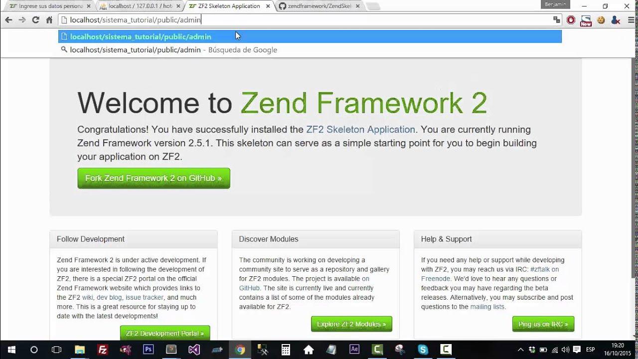 crear login en zend framework 2 usando zend auth