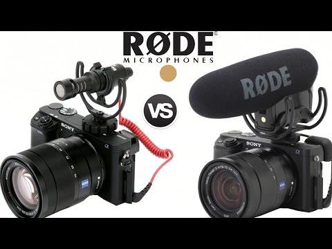 RODE VIDEOMIC PRO VS VIDEO MICRO SONY A6300 CAMERA SOUND QUALITY TEST TECH REVIEW