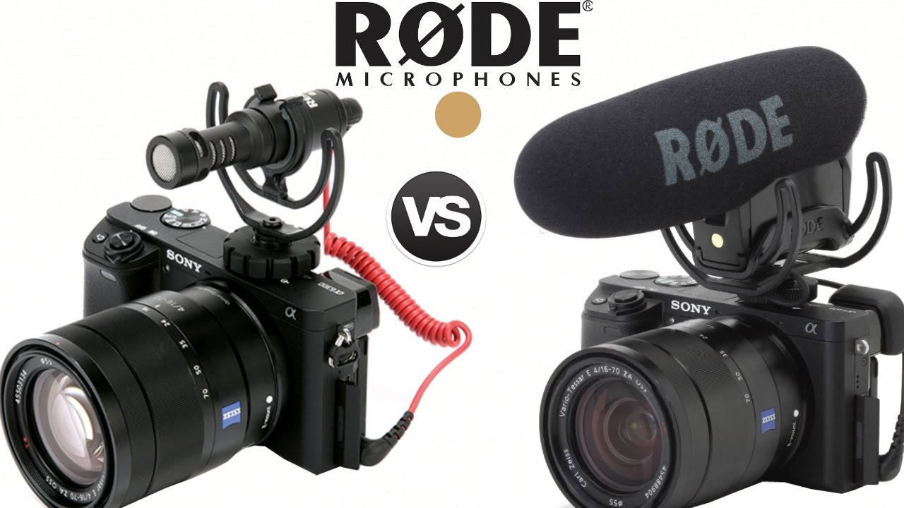 Rode Videomic Pro Vs Video Micro Sony A6300 Camera Sound Quality Microphone Rycote Test Tech Review