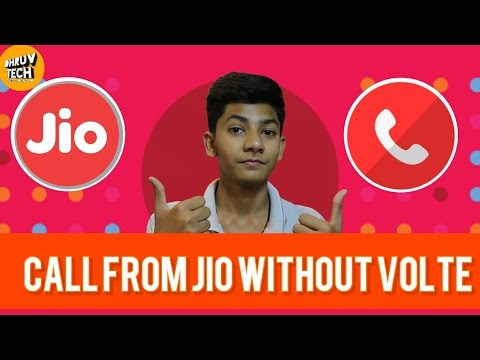 [HINDI] How To Make Calls From Jio Without Having VOLTE support!!