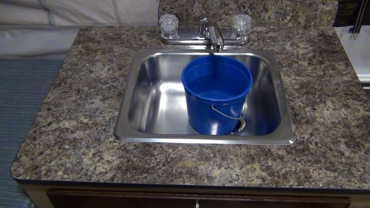 Popup Camper Water Pump & Cutoff Switch - YouTube