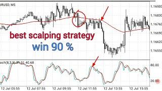 5 pip profit scalping  strategy | stochastic oscillator & EMA indicator scalping strategy