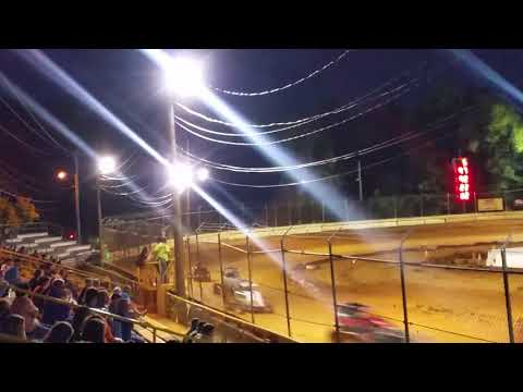 Ryan Quackenbush Airport Speedway Sept 16, 2017 heat