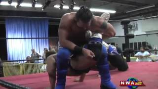 Tommy Taylor vs Shawn Spears - NWA Florida Heavyweight Championship
