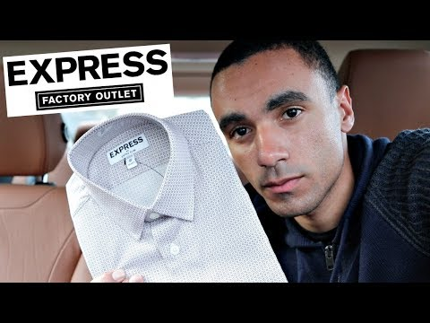 EXPRESS Dress Shirts| Never Pay Full Price