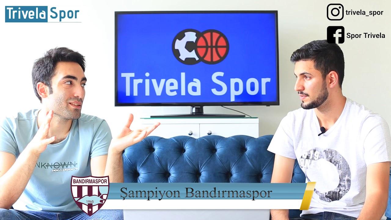 TFF 2.Lig Kırmızı Grup Şampiyonu Bandırmaspor