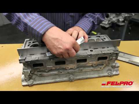 Checking Cylinder Head Surface Finish & Flatness