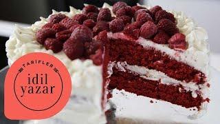 Kırmızı Kadife Pasta Tarifi - İdil Yazar - Yemek Tarifleri - Red Velvet Cake