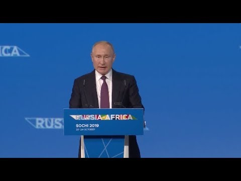 Russia-Africa Economic Forum Opens in Sochi to Seek Cooperation