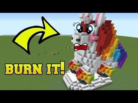 IS THAT MY LITTLE PONY?!? BURN IT!!!